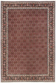 Bidjar Matto 206X298 Itämainen Käsinsolmittu Tummanpunainen/Tummanruskea (Villa, Persia/Iran)