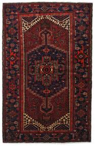 Hamadan Matto 132X206 Itämainen Käsinsolmittu Tummanpunainen (Villa, Persia/Iran)