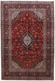 Keshan Matto 200X294 Itämainen Käsinsolmittu Tummanpunainen/Ruskea (Villa, Persia/Iran)