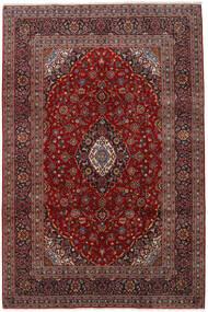 Keshan Matto 197X300 Itämainen Käsinsolmittu Tummanpunainen/Musta (Villa, Persia/Iran)