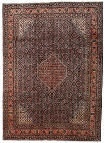 Ardebil Matto 232X319 Itämainen Käsinsolmittu Tummanruskea/Tummanpunainen (Villa, Persia/Iran)