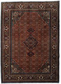 Ardebil Matto 207X288 Itämainen Käsinsolmittu Tummanruskea/Tummanpunainen (Villa, Persia/Iran)