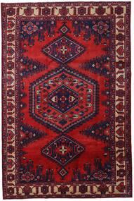Wiss Matto 210X320 Itämainen Käsinsolmittu Tummanpunainen/Tummanvioletti (Villa, Persia/Iran)