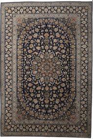 Keshan Matto 343X509 Itämainen Käsinsolmittu Tummanharmaa/Ruskea/Vaaleanharmaa Isot (Villa, Persia/Iran)
