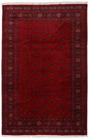 Pakistan Bokhara 3Ply Matto 196X301 Itämainen Käsinsolmittu Tummanpunainen/Tummanruskea (Villa, Pakistan)