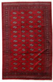 Pakistan Bokhara 3Ply Matto 201X316 Itämainen Käsinsolmittu Punainen/Tummanpunainen (Villa, Pakistan)