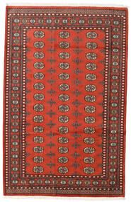 Pakistan Bokhara 2Ply Matto 159X248 Itämainen Käsinsolmittu Tummanpunainen/Ruoste (Villa, Pakistan)