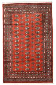 Pakistan Bokhara 2Ply Matto 157X252 Itämainen Käsinsolmittu Tummanpunainen/Ruoste (Villa, Pakistan)