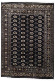 Pakistan Bokhara 2Ply Matto 171X247 Itämainen Käsinsolmittu Musta/Tummanharmaa (Villa, Pakistan)