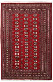 Pakistan Bokhara 2Ply Matto 190X288 Itämainen Käsinsolmittu Tummanpunainen/Punainen (Villa, Pakistan)