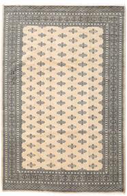 Pakistan Bokhara 2Ply Matto 202X306 Itämainen Käsinsolmittu Beige/Vaaleanharmaa/Tummanharmaa (Villa, Pakistan)
