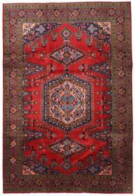 Wiss Matto 213X316 Itämainen Käsinsolmittu Tummanpunainen/Musta (Villa, Persia/Iran)