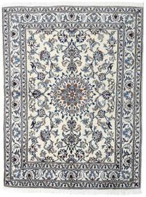 Nain Matto 145X191 Itämainen Käsinsolmittu Vaaleanharmaa/Tummanharmaa (Villa, Persia/Iran)