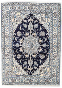 Nain Matto 150X210 Itämainen Käsinsolmittu Vaaleanharmaa/Beige (Villa, Persia/Iran)