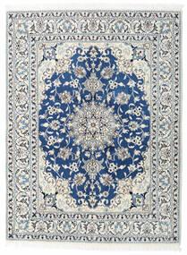 Nain Matto 150X200 Itämainen Käsinsolmittu Beige/Vaaleanharmaa (Villa, Persia/Iran)