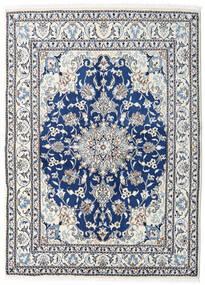 Nain Matto 150X208 Itämainen Käsinsolmittu Beige/Vaaleanharmaa (Villa, Persia/Iran)