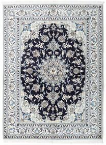 Nain Matto 150X200 Itämainen Käsinsolmittu Vaaleanharmaa/Valkoinen/Creme (Villa, Persia/Iran)
