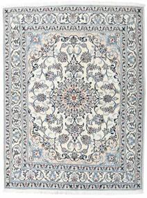 Nain Matto 163X213 Itämainen Käsinsolmittu Beige/Vaaleanharmaa (Villa, Persia/Iran)