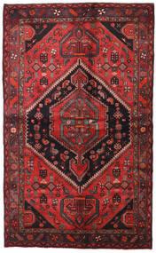 Hamadan Matto 138X225 Itämainen Käsinsolmittu Tummanpunainen/Musta (Villa, Persia/Iran)
