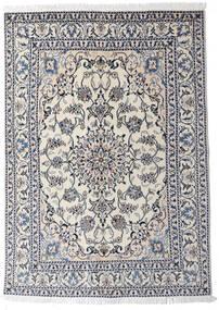 Nain Matto 145X204 Itämainen Käsinsolmittu Vaaleanharmaa/Tummanharmaa (Villa, Persia/Iran)