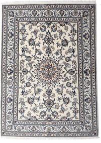 Nain Matto 147X206 Itämainen Käsinsolmittu Vaaleanharmaa/Tummanharmaa (Villa, Persia/Iran)