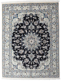 Nain Matto 150X195 Itämainen Käsinsolmittu Vaaleanharmaa/Tummanharmaa (Villa, Persia/Iran)