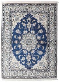 Nain Matto 153X206 Itämainen Käsinsolmittu Vaaleanharmaa/Tummansininen (Villa, Persia/Iran)