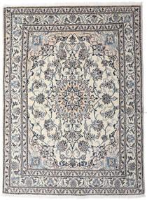 Nain Matto 151X202 Itämainen Käsinsolmittu Vaaleanharmaa/Tummanruskea (Villa, Persia/Iran)