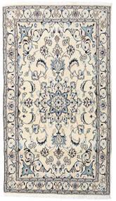 Nain Matto 121X215 Itämainen Käsinsolmittu Beige/Vaaleanharmaa (Villa, Persia/Iran)