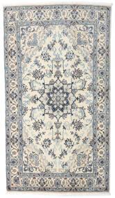 Nain Matto 121X210 Itämainen Käsinsolmittu Beige/Vaaleanharmaa/Tummanharmaa (Villa, Persia/Iran)