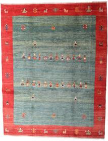 Gabbeh Rustic Matto 263X335 Moderni Käsinsolmittu Tummanvihreä/Vaaleanharmaa Isot (Villa, Persia/Iran)