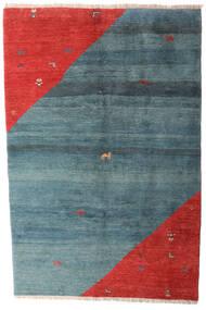 Gabbeh Rustic Matto 203X305 Moderni Käsinsolmittu Sininen/Ruoste (Villa, Persia/Iran)