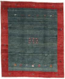 Gabbeh Rustic Matto 276X327 Moderni Käsinsolmittu Tummanpunainen/Tumma Turkoosi/Tummanvihreä Isot (Villa, Persia/Iran)