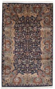 Keshan Indo Matto 193X310 Itämainen Käsinsolmittu Musta/Vaaleanruskea (Villa, Intia)