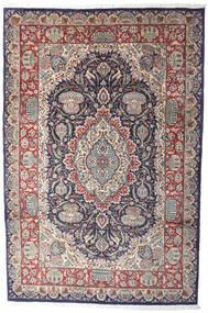 Kashmar Indo Matto 206X311 Itämainen Käsinsolmittu Vaaleanharmaa/Tummanruskea (Villa, Intia)