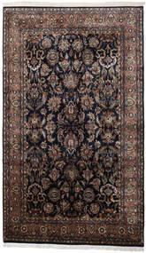 Keshan Indo Matto 186X310 Itämainen Käsinsolmittu Musta/Tummanruskea (Villa, Intia)