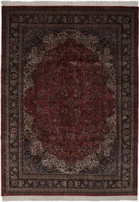 Keshan Indo Matto 256X361 Itämainen Käsinsolmittu Musta Isot (Villa, Intia)