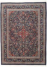 Keshan Indo Matto 255X346 Itämainen Käsinsolmittu Tummanvioletti/Tummanharmaa Isot (Villa, Intia)