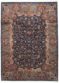 Kashmar Indo Matto 254X342 Itämainen Käsinsolmittu Musta/Tummanruskea Isot (Villa, Intia)