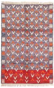 Moroccan Berber - Afghanistan Matto 115X180 Moderni Käsinsolmittu Vaaleanvioletti/Beige (Villa, Afganistan)