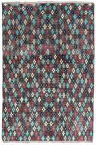Moroccan Berber - Afghanistan Matto 158X207 Moderni Käsinsolmittu Tummanharmaa/Musta (Villa, Afganistan)