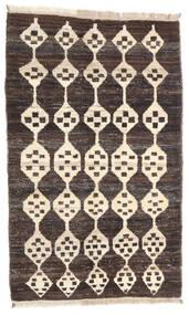 Moroccan Berber - Afghanistan Matto 119X192 Moderni Käsinsolmittu Tummanruskea/Beige (Villa, Afganistan)
