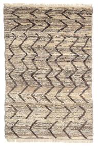 Moroccan Berber - Afghanistan Matto 114X176 Moderni Käsinsolmittu Vaaleanharmaa/Tummanruskea (Villa, Afganistan)