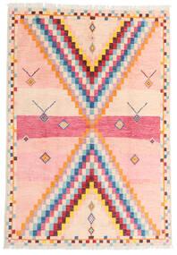 Moroccan Berber - Afghanistan Matto 170X247 Moderni Käsinsolmittu Vaaleanpunainen/Beige (Villa, Afganistan)