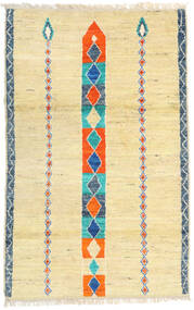 Moroccan Berber - Afghanistan Matto 113X182 Moderni Käsinsolmittu Tummanbeige/Beige (Villa, Afganistan)