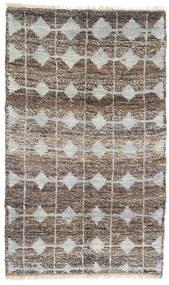 Moroccan Berber - Afghanistan Matto 115X188 Moderni Käsinsolmittu Vaaleanharmaa/Tummanharmaa (Villa, Afganistan)