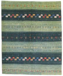 Loribaft Persia Matto 158X193 Moderni Käsinsolmittu Pastellinvihreä/Sininen (Villa, Persia/Iran)