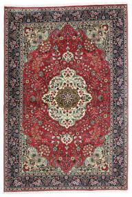 Tabriz Matto 100X150 Itämainen Käsinsolmittu Musta/Tummanharmaa (Villa, Persia/Iran)