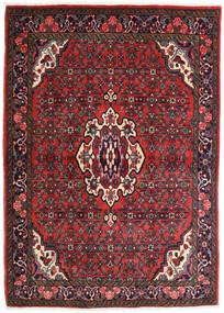 Bidjar Matto 106X150 Itämainen Käsinsolmittu Tummanpunainen/Ruoste (Villa, Persia/Iran)