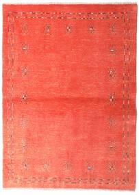 Loribaft Persia Matto 102X144 Moderni Käsinsolmittu Punainen/Ruoste/Vaaleanpunainen (Villa, Persia/Iran)